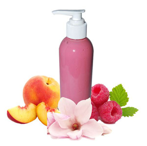 shea lotion with herbal infusion