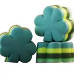 4 leaf clover soap