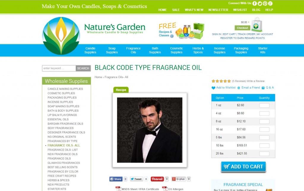 black code type