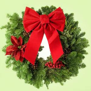 christmas wreath fragrance oil