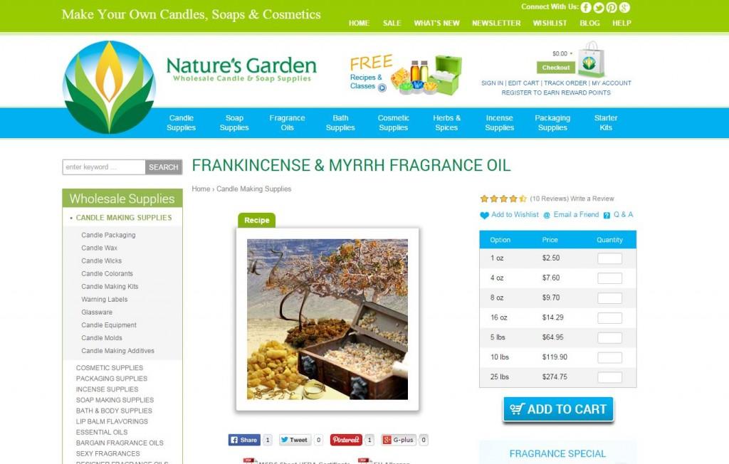 frankincense and myrrh page