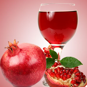 champagne pomegranate