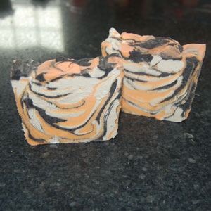 tiger stripe soap recipe